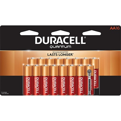 Duracell® Quantum AA Batteries, 16-Pack