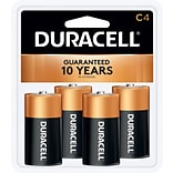 Duracell® Alkaline C Batteries, 4-Pack