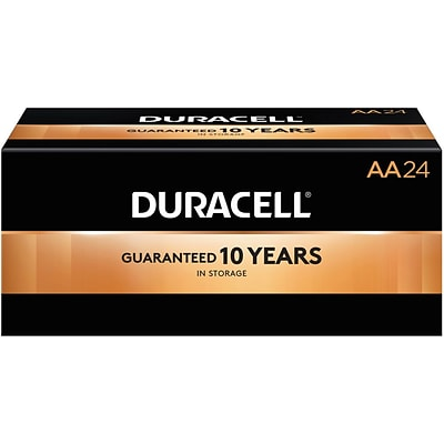 Duracell® CopperTop™ AA Batteries, 24/Box