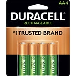 Duracell® Rechargeable NiMH AA Battery 4-Pack