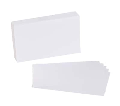 "Quill Brand® 3"" x 5"" Blank White Index Cards, 100/Pack (51008)"
