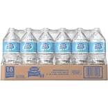 Nestle Pure Life Purified Water, 33.8-ounce Plastic Bottle, 18/Pack