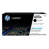 HP 655A Black Original LaserJet Toner Cartridge