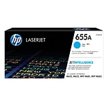 HP 655A Cyan Original LaserJet Toner Cartridge
