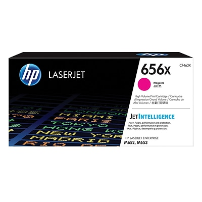 HP 656X High Yield Magenta Original LaserJet Toner Cartridge (CF463X)
