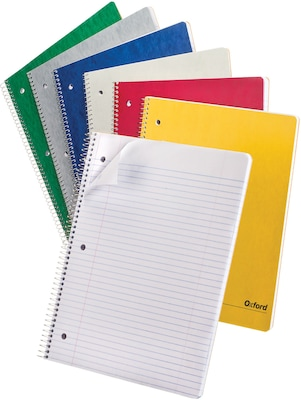Image of 1-Subject Microperf 100 Sheet Spiral Note Bk