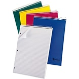 Ampad® Ruled Pad 8-1/2x11-3/4, Medium Ruling, White, 80 Sheets/Pad