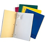 Oxford Earthwise Recycled 3-Subject Notebook, 8 1/2 x 11, College Ruled, 150 Sheets, Assorted Colo