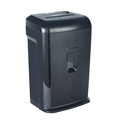 Quill Brand® 940512 15-Sheet Cross-Cut Shredder; Black