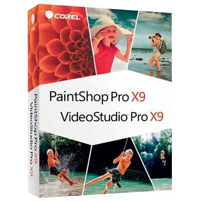Corel Photo Video Suite X9 for Windows (1 User) [Download]