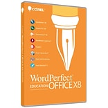 Corel WordPerfect Office X8 Pro Education for Windows (1 User) [Download]