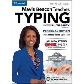 Encore Mavis Beacon Teaches Typing Powered by UltraKey v2 - Personal Edition (MAC) for Mac (1 User)