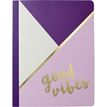 Gartner Studios, Fashion Composition Notebook, Good Vibes, College Ruled, Assorted (25777)