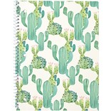 Gartner Studios, Fashion 1 Subject Notebook, Cacti, College Ruled, Multicolor (25770)