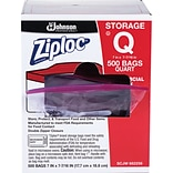 Ziploc® 1 Quart Double Zipper Storage Bags ...