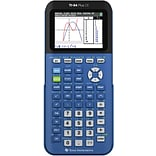 Texas Instruments TI-84 CE Color Screen Graphing Calculator, Dark Blue