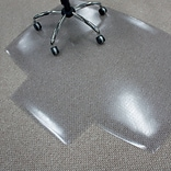 Quill Brand® Professional Series 48x60 Vinyl Carpet Chair Mat 25x8 Lip (STP51495)