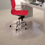 Quill Brand® Professional Series 48x60 Vinyl Carpet Chair Mat 25x8 Lip (STP51497)
