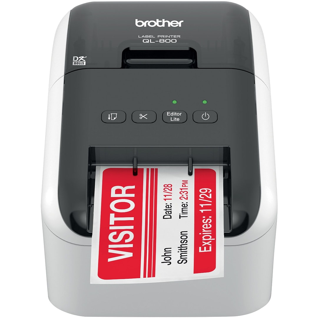 QL-800 High-Speed Professional Label Printer with Labels Up to 3 ...