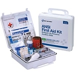 First Aid Only™ Bulk ANSI B Type III Weatherproof Hard Plastic First Aid Kit for up to 50 People (90