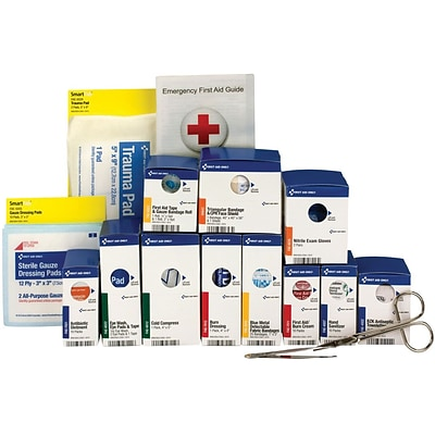 First Aid Only™ ANSI A SmartCompliance Medium Food Service Metal First Aid Kit Refill for up to 25 People (90692)