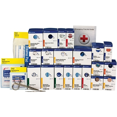 First Aid Only™ ANSI A+ SmartCompliance Large Food Service First Aid Kit Refill for up to 50 People (90828)