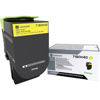 Lexmark CS/X417/517 High Yield Yellow Toner