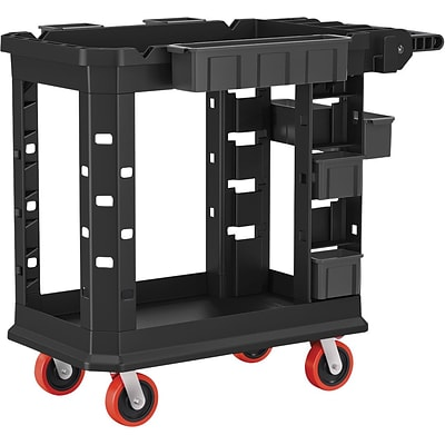 Suncast Commercial Structural Foam Utility Cart, HD, 19 x 37 (PUCHD1937)