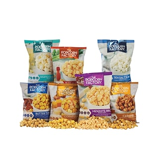 7 Flavor Popcorn w $200 on ink & toner