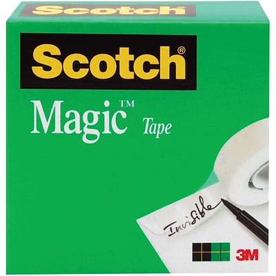 Scotch® Magic™ Tape, 3/4 x 2,592, 1 Box/Pack (810-3/4X72)