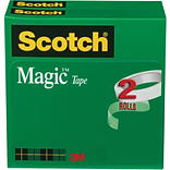 Scotch Magic™ Tape 1/2x2592, 2/Pack