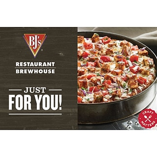 BJs Restaurant Gift Card $25