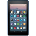 Amazon Fire 7 Tablet with Alexa, 7 Display, 8 GB, Marine Blue
