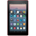 Amazon Kindle Fire 7 Tablet, 8GB, Android, Punch Red