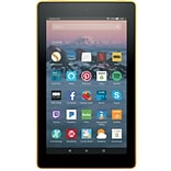 Amazon Kindle Fire 7 Tablet, 8GB, Android, Canary Yellow