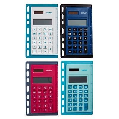staples better binder calculator assorted colors quill com