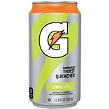 Gatorade® Ready To Drink Thirst Quencher; Lemon-Lime, 11.6 oz. Can, 24/Pack