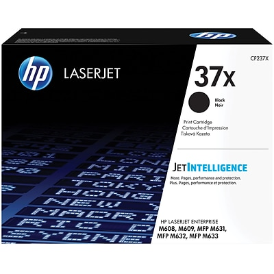 HP 37A High Yield Black Original LaserJet Toner Cartridge