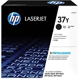 HP 37Y Extra High Yield Black Original LaserJet Toner Cartridge