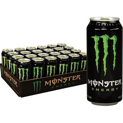 Monster Energy Original, 16 Oz. Cans, 24/Pack (133129)