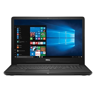 Dell® I3567-3964BLK 15.6 Laptop Computer (7th Gen Intel i3, 2TB HDD, 8GB DDR4, Win 10, Intel® HD graphics 620)
