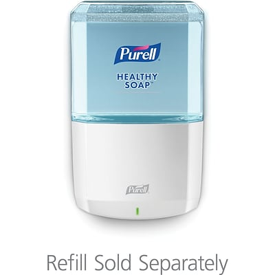 PURELL ES8 Touch-Free Soap Dispenser, White, for 1200 mL PURELL ES8 Soap Refills (7730-01)
