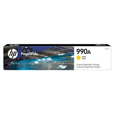 HP 990A Yellow Original PageWide Cartridge