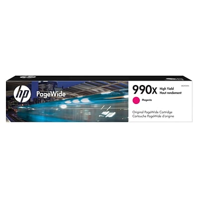 HP 990X High Yield Magenta Original PageWide Cartridge