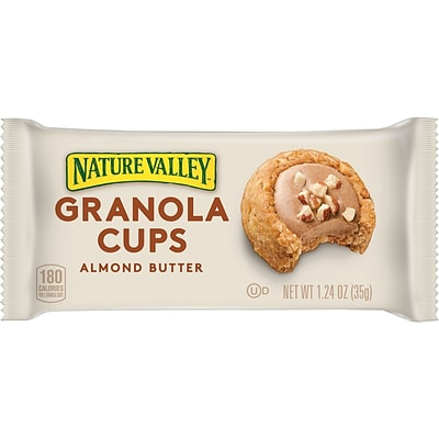 Nature Valley™ Granola Cups, Almond Butter, 12/BX