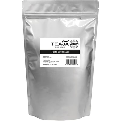 Teaja® Organic Breakfast Loose Leaf Tea, 0.5 lb