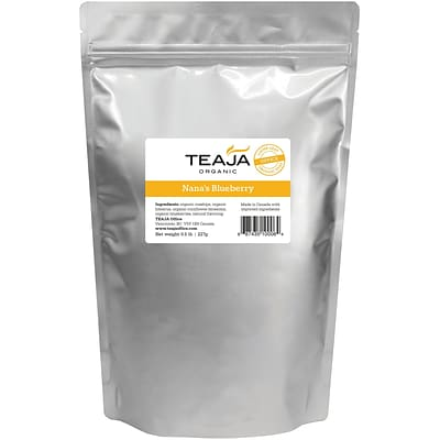 Teaja® Organic Nanas Blueberry Loose Leaf Tea, 0.5 lb