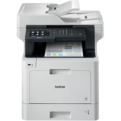 Brother MFCL8900CDW All-in-One Color Laser Printer, Refurbished