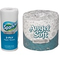 Buy 1 Case of Angel Soft Bath Tissue, Get 50% off Sparkle Paper Towels