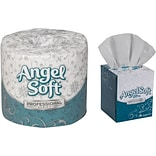 Buy 1 Case of Angel Soft Bath Tissue, Get 50% Off 1 Case Of Angel Soft Facial Tissue